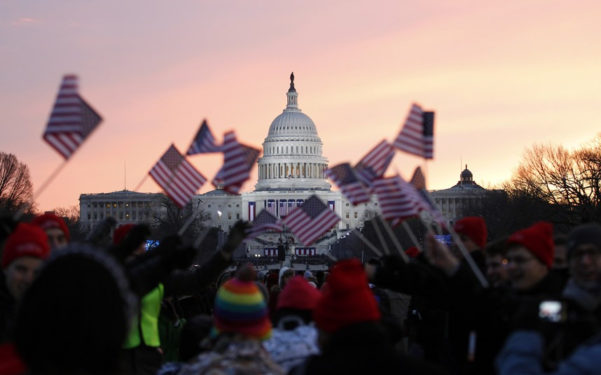 The Capitol, Inauguration Day, January 21, 2013