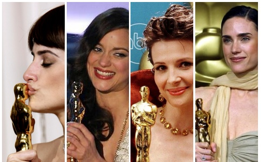 Cruz, Cotillard, Binoche, Connelly: Oscar not SAG winners