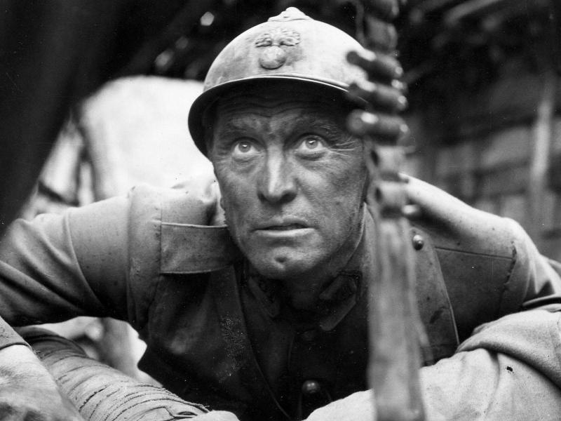 "Kirk Douglas in Stanley Kubrick's ""Paths of Glory"" (1958)"