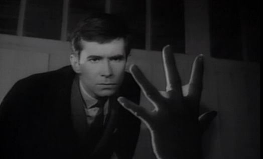 "Tony Perkins in ""The Trial"" (1962)"
