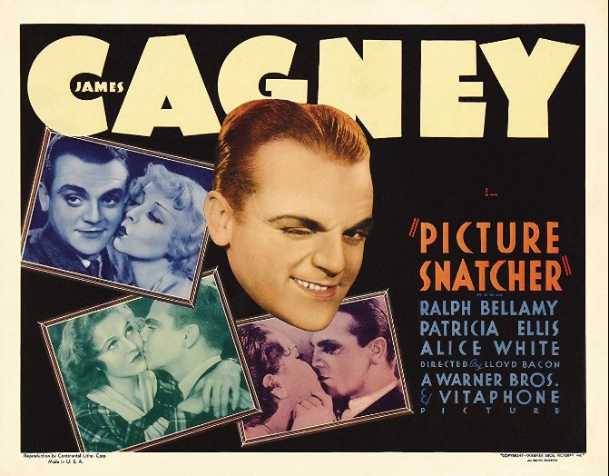 Review of Picture Snatcher with James Cagney