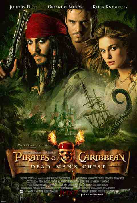 Poster: Pirates of the Caribbean: Dead Man's Chest (2006)