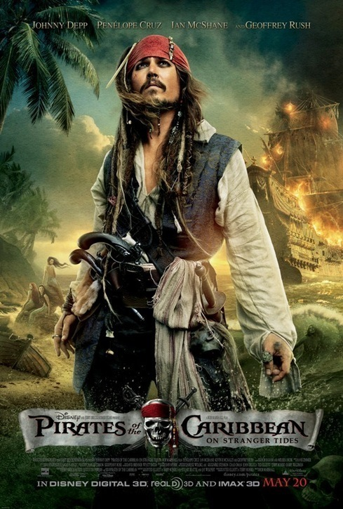 Poster for Pirates of the Caribbean: On Stranger Tides (2011)
