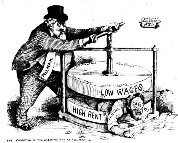 Squeezed between low wages and high rent