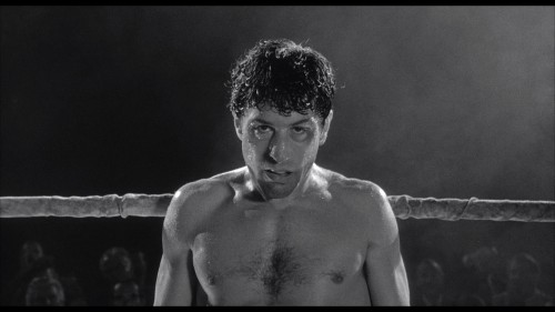 Robert DeNiro in Raging Bull, the most honored movie of the 1980s