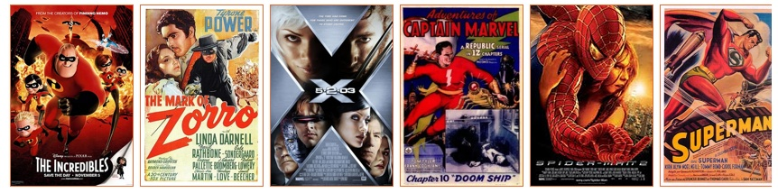 Ranking superhero movies