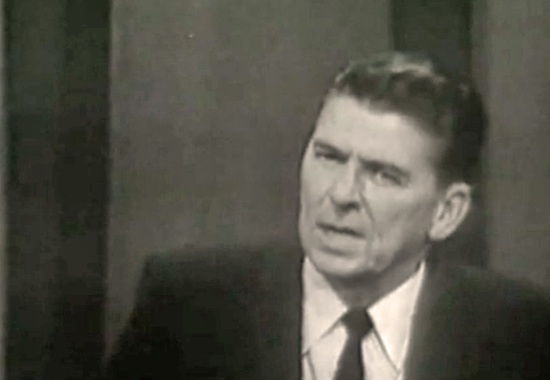 Ronald Reagan in 1964