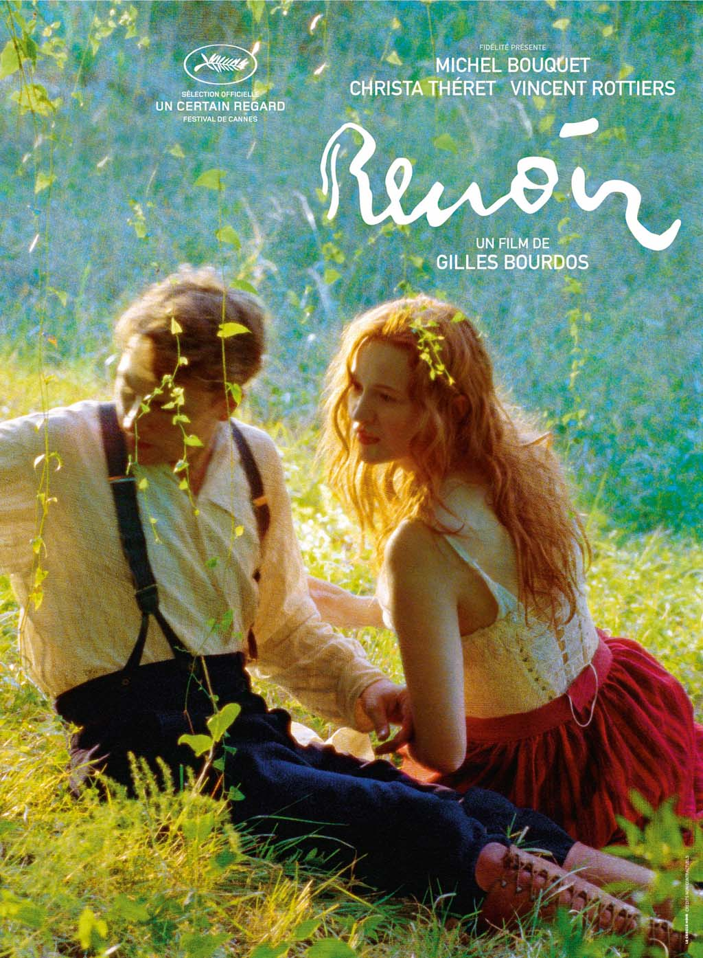 "Poster of ""Renoir"" (2012), French film"