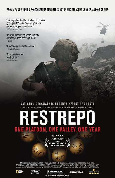 poster for Restrepo