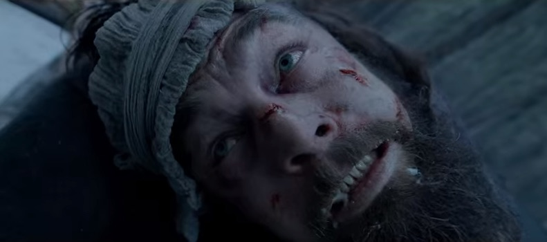 "Death scene in ""The Revenant"""