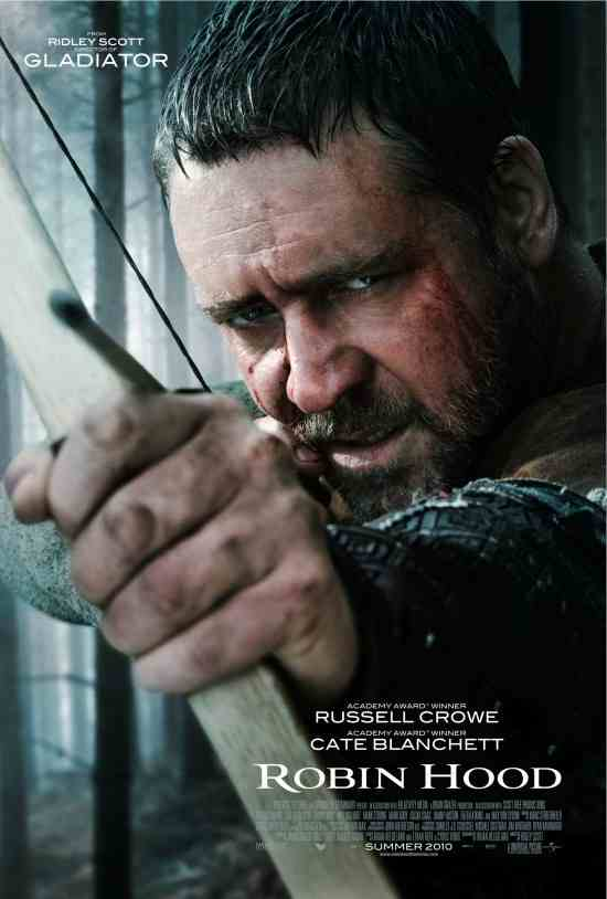 "Poster for ""Robin Hood"" (2010) with Russell Crowe"