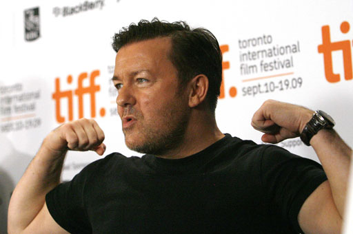 Ricky Gervais at TIFF