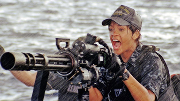 "Rihanna in ""Battleship"""