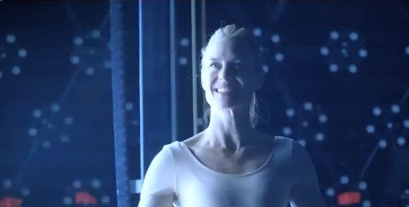 "Robin Wright in ""The Congress"": Now smile."