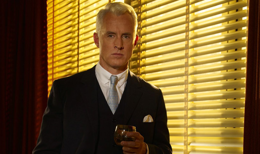 "Roger Sterling of ""Mad Men"""