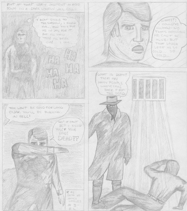 The Shadow in Rory Comics