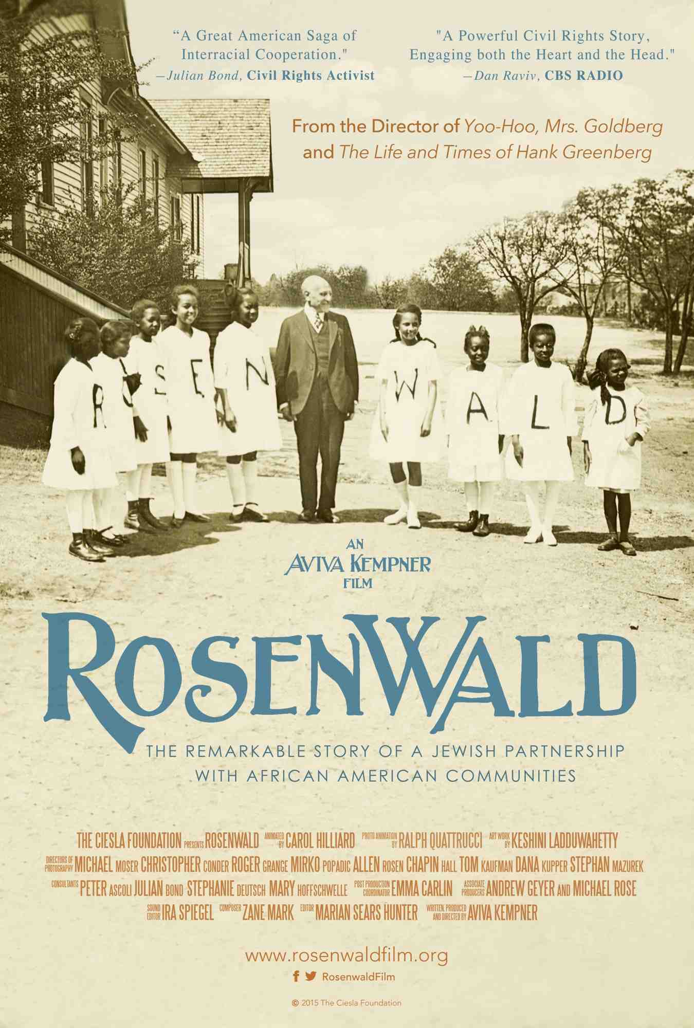 Rosenwald: a documentary by Aviva Kempner