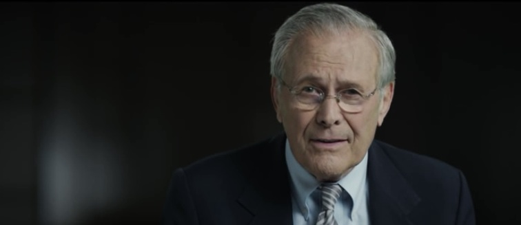Donald Rumsfeld, the Unknown Known