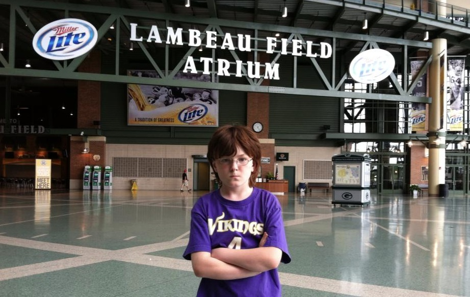 Ryan at Lambeau Field