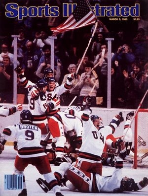Miracle on Ice cover of Sports Illustrated