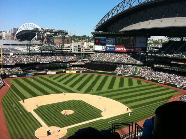 Safeco Field, July 25, 2012