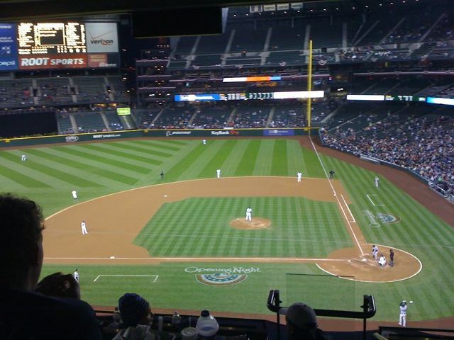 Safeco Field in Seattle, 2011
