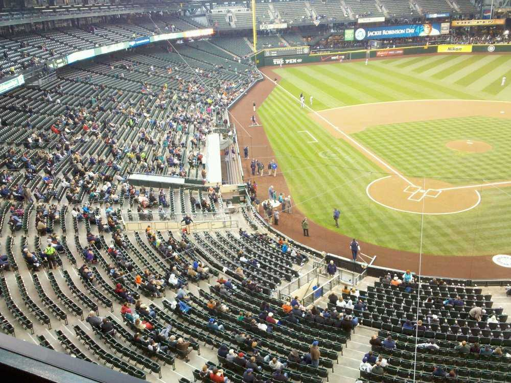 Safeco Field, April 15, 2012
