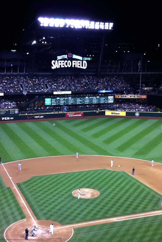 Safeco Field, August 27, 2011