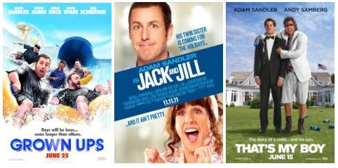 The fall of Adam Sandler movies