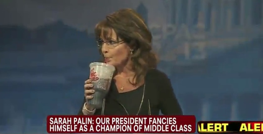 Sarah Palin and the Big Gulp