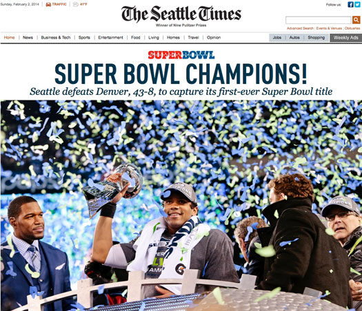 Seattle Seahawks: Super Bowl Champs
