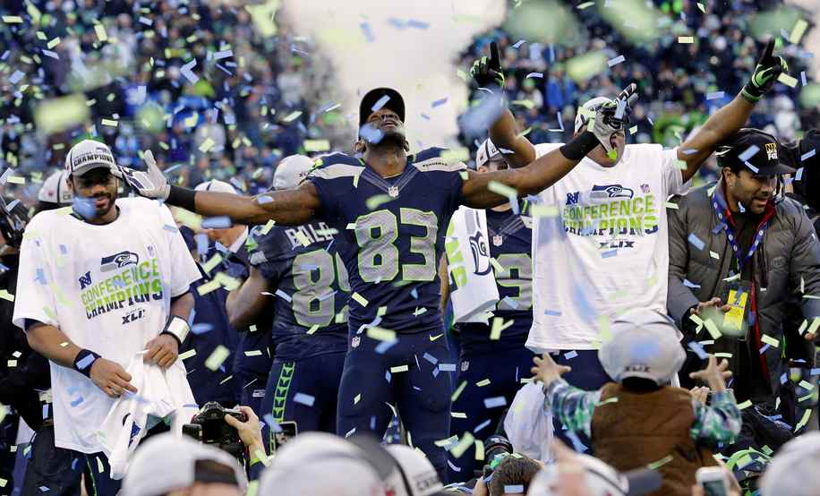Seahawks victory, NFC championship game 2015