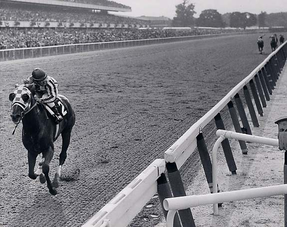 Secretariat at Belmont Stakes