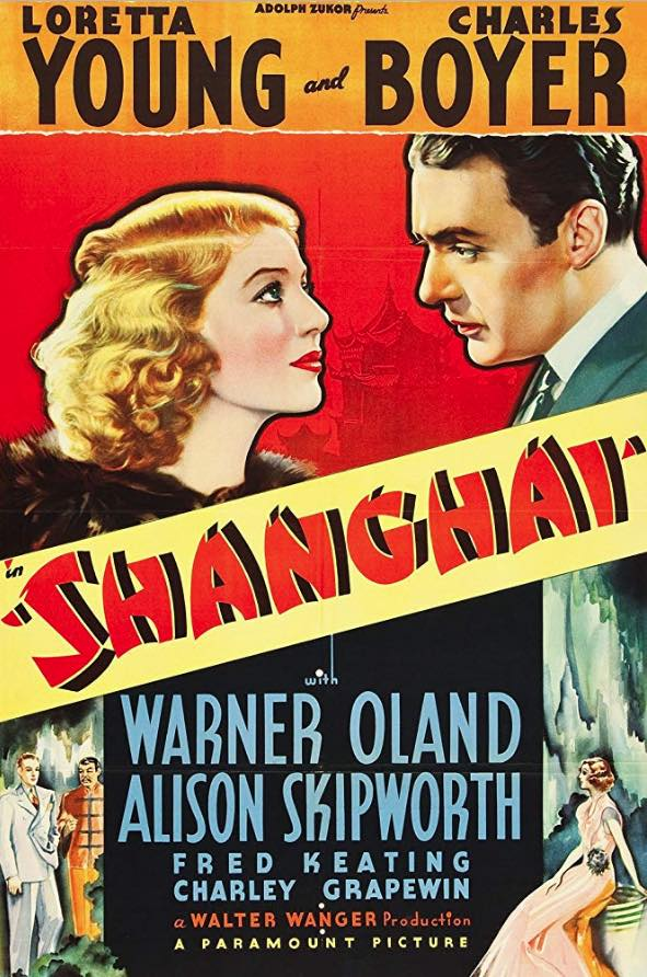 Movie review: Shanghai with Loretta Young and Charles Boyer
