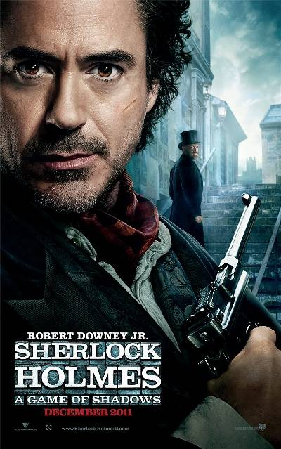 "Poster for ""Sherlock Holmes: A Game of Shadows"" (2011)"
