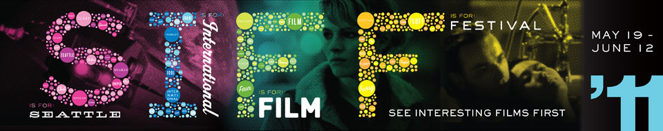 Banner for the 2011 Seattle International Film Festival (SIFF)
