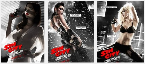 sexy Sin City posters