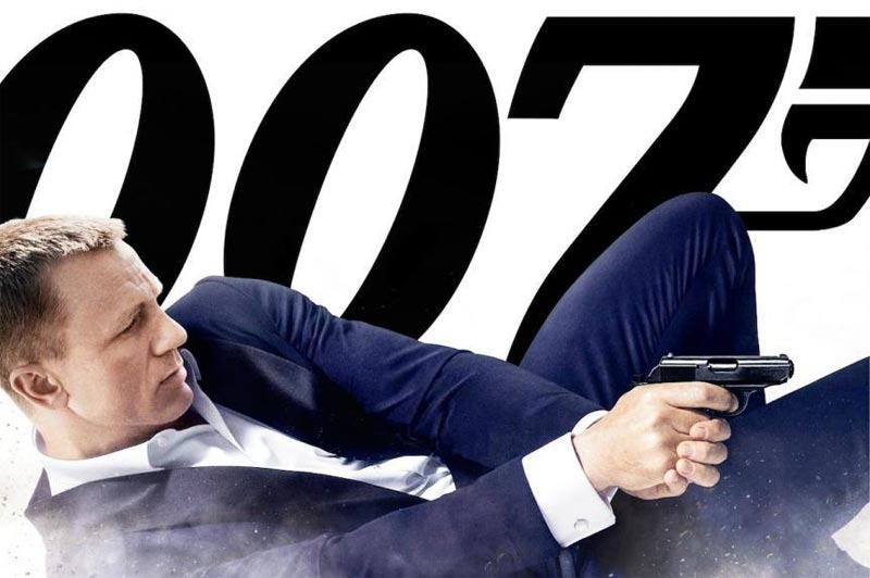 "Daniel Craig as James Bond, 007, in ""Skyfall"""