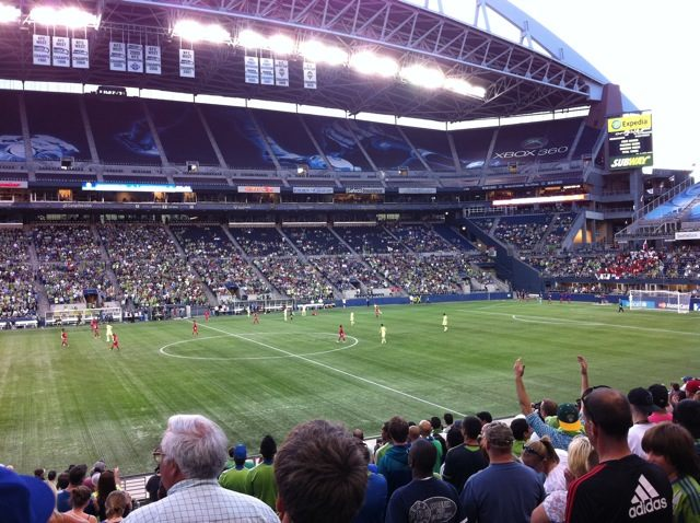 The Seattle Sounders vs. the Panamanians of San Francisco
