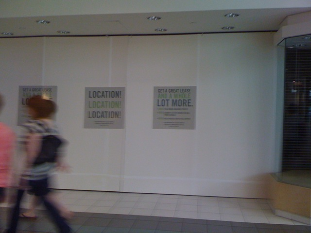 Location! Location! Location!: Photos from the death of a mall