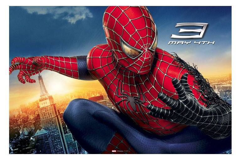 Horizontal poster for Spider-Man 3 (2007)