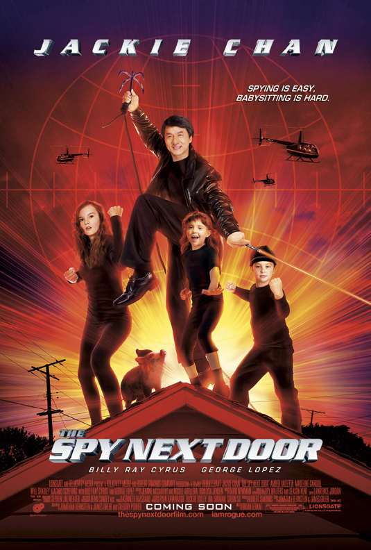 """The Spy Next Door"" with Jackie Chan"