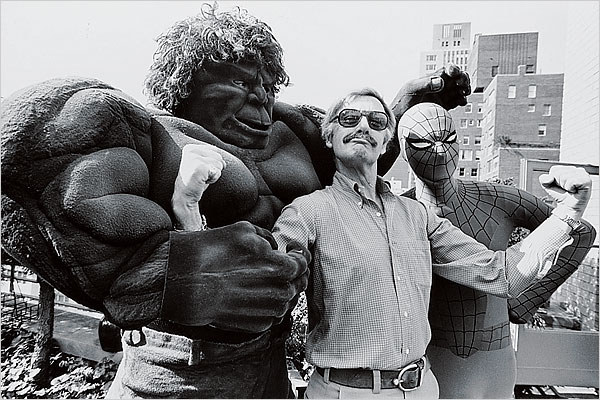 Stan Lee, Spider-Man and the Hulk