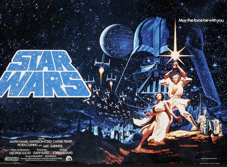 Star Wars: original poster, original review