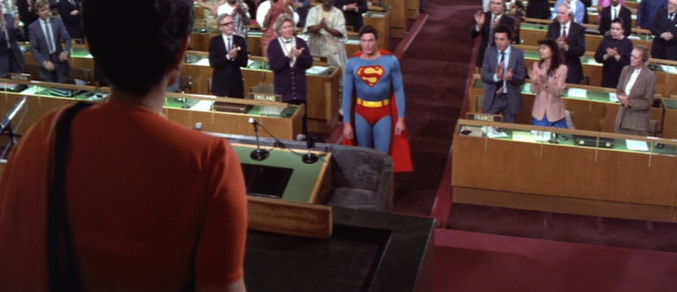 "Superman at the UN in ""Superman IV: The Quest for Peace"""
