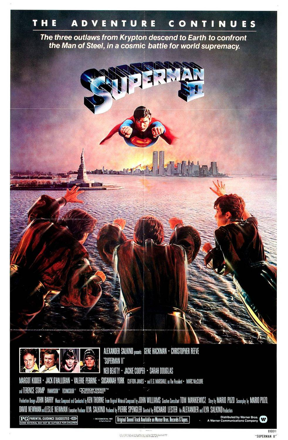 Poster for Superman II