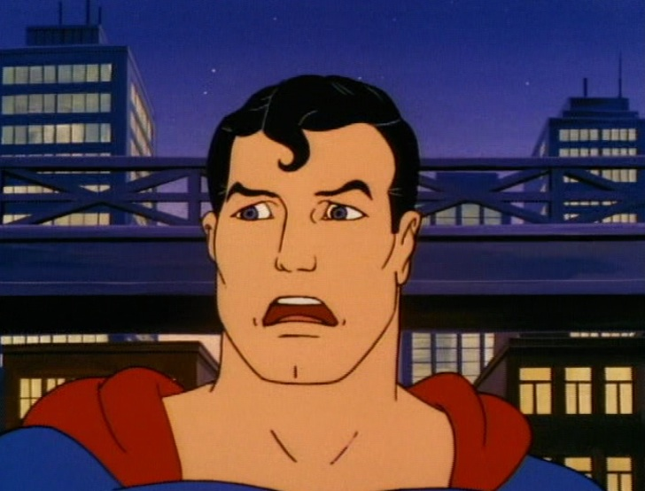 Metropolis turns on Superman, 1988
