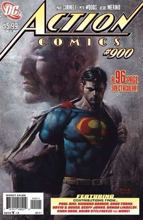 Superman renounces U.S. citizenship in Action Comics #900