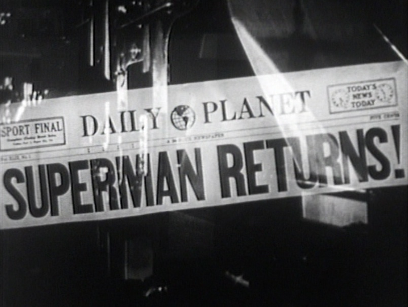 Superman Returns! headline