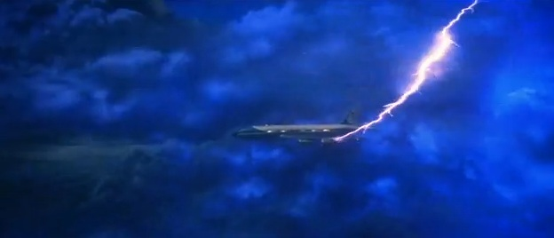 "Air Force One scene from ""Superman: The Movie"" (1978)"